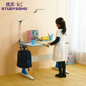 优沃 儿童学习桌可升降学生桌儿童书桌 单桌L100