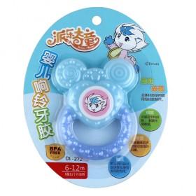 婴儿响铃牙胶 硅胶牙胶 安抚牙胶 宝宝摇铃