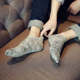 10双装 袜子男短袜低帮纯棉短筒袜春夏季船袜薄款
