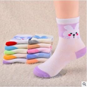12双装儿童袜子棉薄款 男女孩