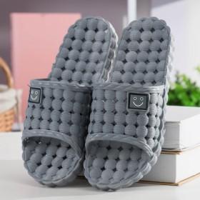 夏季凉拖鞋男士居家室内塑料防滑洗澡家居情侣女士浴室