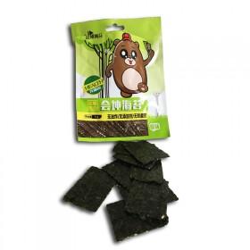 【10袋】芝麻夹心海苔脆片即食纯天然儿童孕妇零食