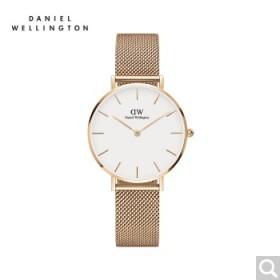 520表白季dw新款时尚钢带手表女简约石英表