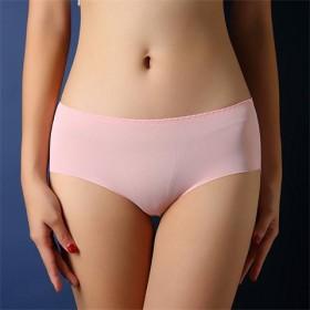 夏季薄款一片式莫代尔冰丝内裤无痕大码弹力打底裤