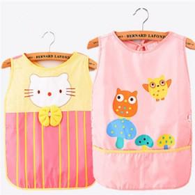 宝宝防水罩衣儿童画画衣幼儿园