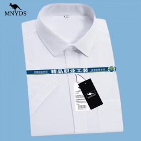 (可用花呗及信用卡)职业正装商务白衬衫男