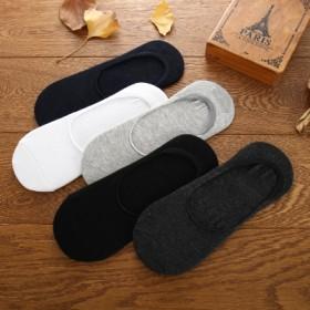 袜子男短袜夏季薄款低帮防臭吸汗男袜短筒短颈纯棉男袜