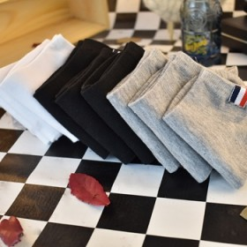 五双装袜子男夏季薄款船袜低帮运动浅口短筒竹纤维防臭