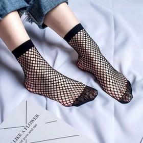 【2双】渔网袜短袜 全五星截图发客服可免单
