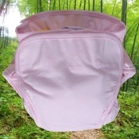 2件竹纤维宝宝尿布裤尿布兜 防漏 透气