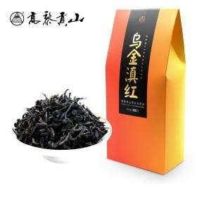 高黎贡山云南高山滇红茶叶浓香型蜜香乌金丝散装袋茶3