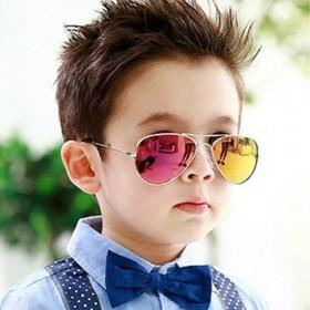 9.9包邮儿童太阳镜男童眼镜防紫外线宝宝个性墨镜