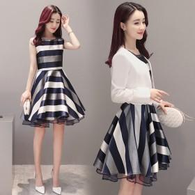 高腰连衣裙子高腰连衣裙气质女T恤女短袖女鞋短外套女