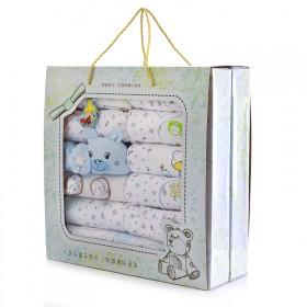 纯棉0-3个月婴儿衣服礼盒套装