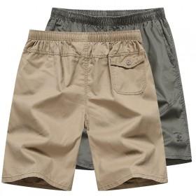纯棉短裤男五分裤宽松薄款百搭短裤沙滩裤居家休闲