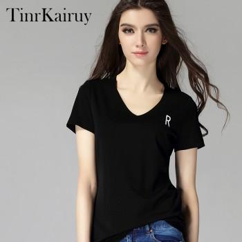 tinrkairuy2017新款短袖T恤女