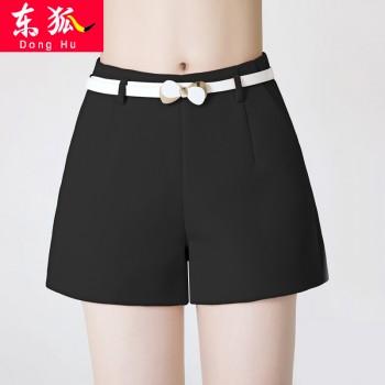 高腰阔腿短裤直筒a字女夏季新款外穿韩版修身显瘦休闲