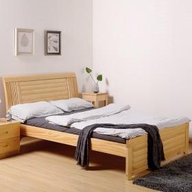 【限地区】实木单人双人床