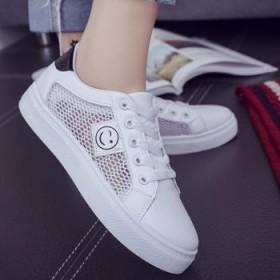 运动鞋透气镂空女鞋
