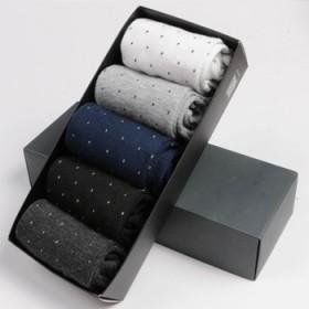 5双装男士运动袜
