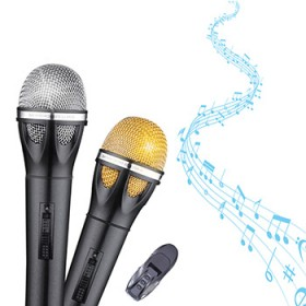 yunque无线录音手持麦克风话筒1支装专业K歌