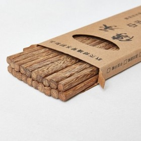 鸡翅木筷木筷10双礼盒装