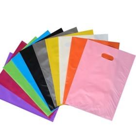 加厚定制服装店袋子礼品包装塑料袋冲孔手提袋购物袋