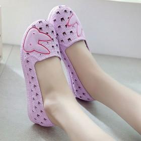 洞洞鞋 沙滩鞋 韩版学生鞋 平底奶奶鞋 镂空雨鞋
