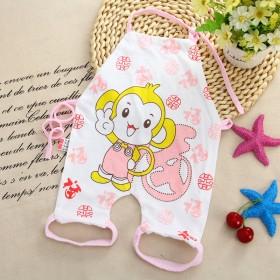 婴儿肚兜夏季纯棉连脚宝宝连体肚兜儿童护肚男女薄款初