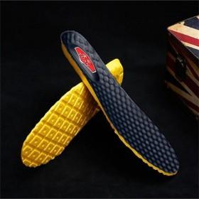 途安超纤轻盈仿皮舒适柔软减震耐磨防臭吸汗透气鞋垫