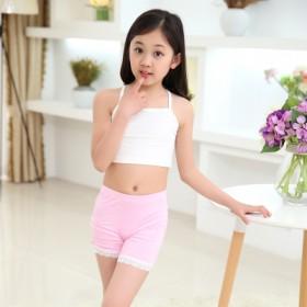 女童发育期文胸小学生内衣小背心纯棉少女女孩抹胸衣儿