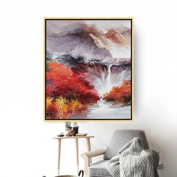 天顶山装饰画抽象画墙画