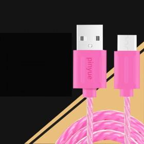 高速快充充电器安卓数据线乐视小米魅族通用果冻数据线