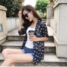 热卖夏季 纳米丝长袖超薄防晒衣小开衫女
