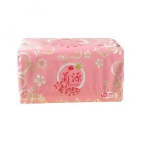 菊源无香抽纸整箱30包卫生纸办公家庭装纸巾抽取式餐