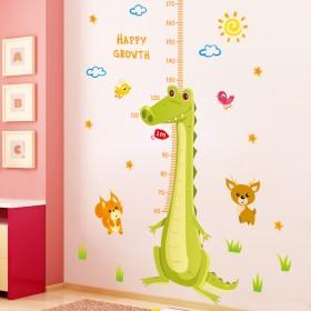 身高贴纸儿童 创意客厅装饰墙贴可移除墙壁 宝宝儿童