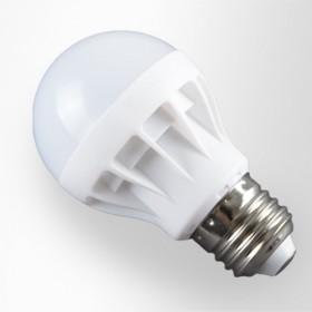 4只5瓦LED E27通用螺口亮节能led灯泡