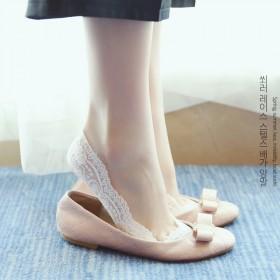 袜子女夏季薄款蕾丝隐形袜套硅胶防滑棉网袜低帮浅口船