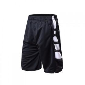 运动短裤男宽松跑步健身短裤透气男大裤衩速干裤