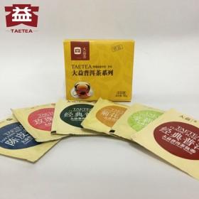 大益 普洱袋泡茶6种口味
