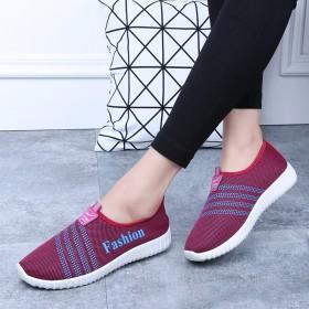 2017春季新款小红鞋女透气女软底男女鞋跑步鞋女鞋