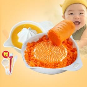 辅食研磨器宝宝 陶瓷手动水果泥蔬菜泥苹果泥婴儿辅食