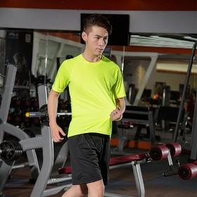 速干衣t恤男健身上衣夏季学生短袖运动吸汗t恤