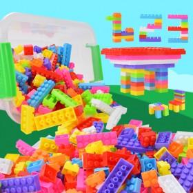 收纳盒245大颗粒拼搭积木玩具