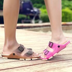 夏季男士拖鞋韩版室外情侣一字拖浴室防滑凉拖鞋潮个性