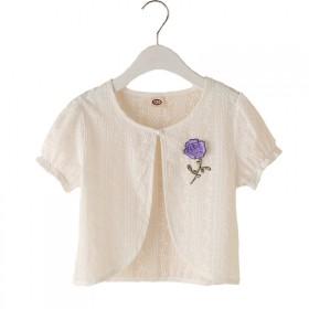 女童披肩夏季短袖小披风