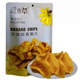 进口道吉草香蕉片60g/袋