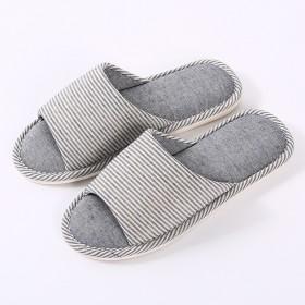 夏季居家拖鞋室内面麻拖鞋