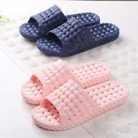 情侣居家新款浴室防滑软底镂空洗澡拖鞋