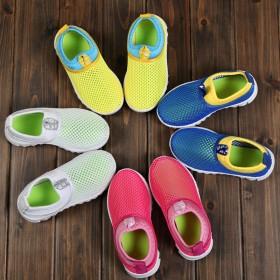 夏季1-9岁儿童镂空透气网鞋